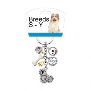 Little Gifts - Dog Charms Keyring  Breeds S to Y